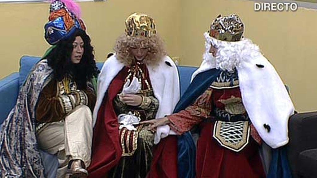 Ana Toro, Gaspar y Baltasar