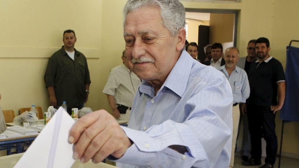 El líder de izquierda Democrática (DIMAR), Fotis Kuvelis