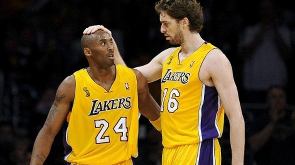 Kobe Bryant y Pau Gasol (EFE)