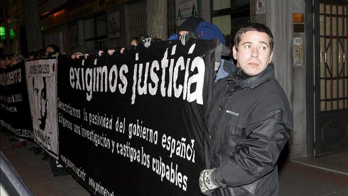 Javier Couso, hermano del reportero José Couso. EFE/Archivo