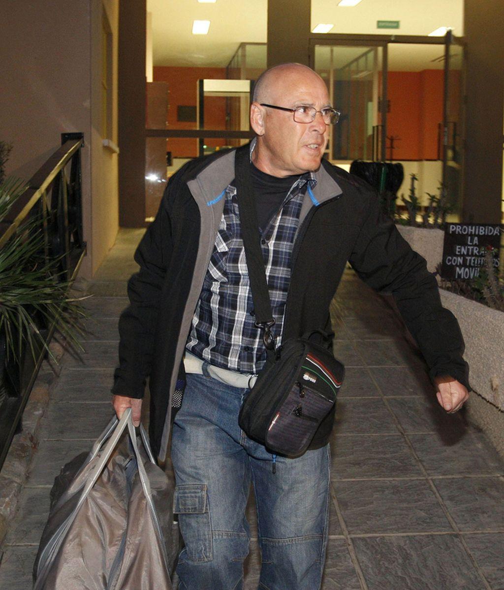 El etarra Ignacio Erro sale de la cárcel de 'El Acebuche' en Almería