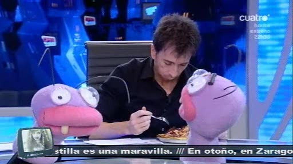 Pablo Motos se come al Pulpo Paul