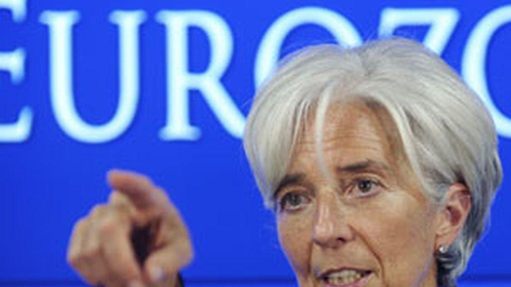 La presidenta del FMI Christine Lagarde