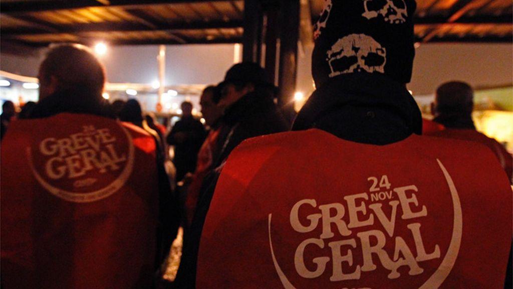 Huelga general en Portugal