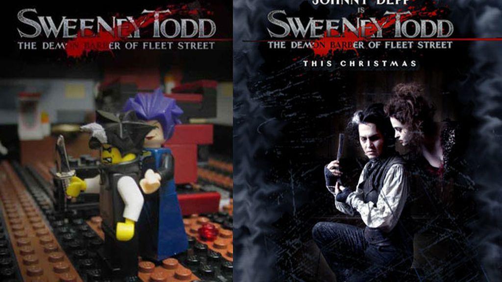Versión Lego de 'Sweeney Todd'