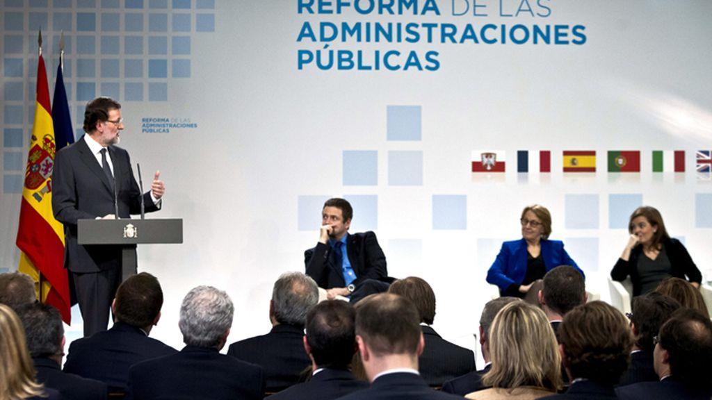 Rajoy participa en unas jornadas sobre la reforma de las Administraciones públicas