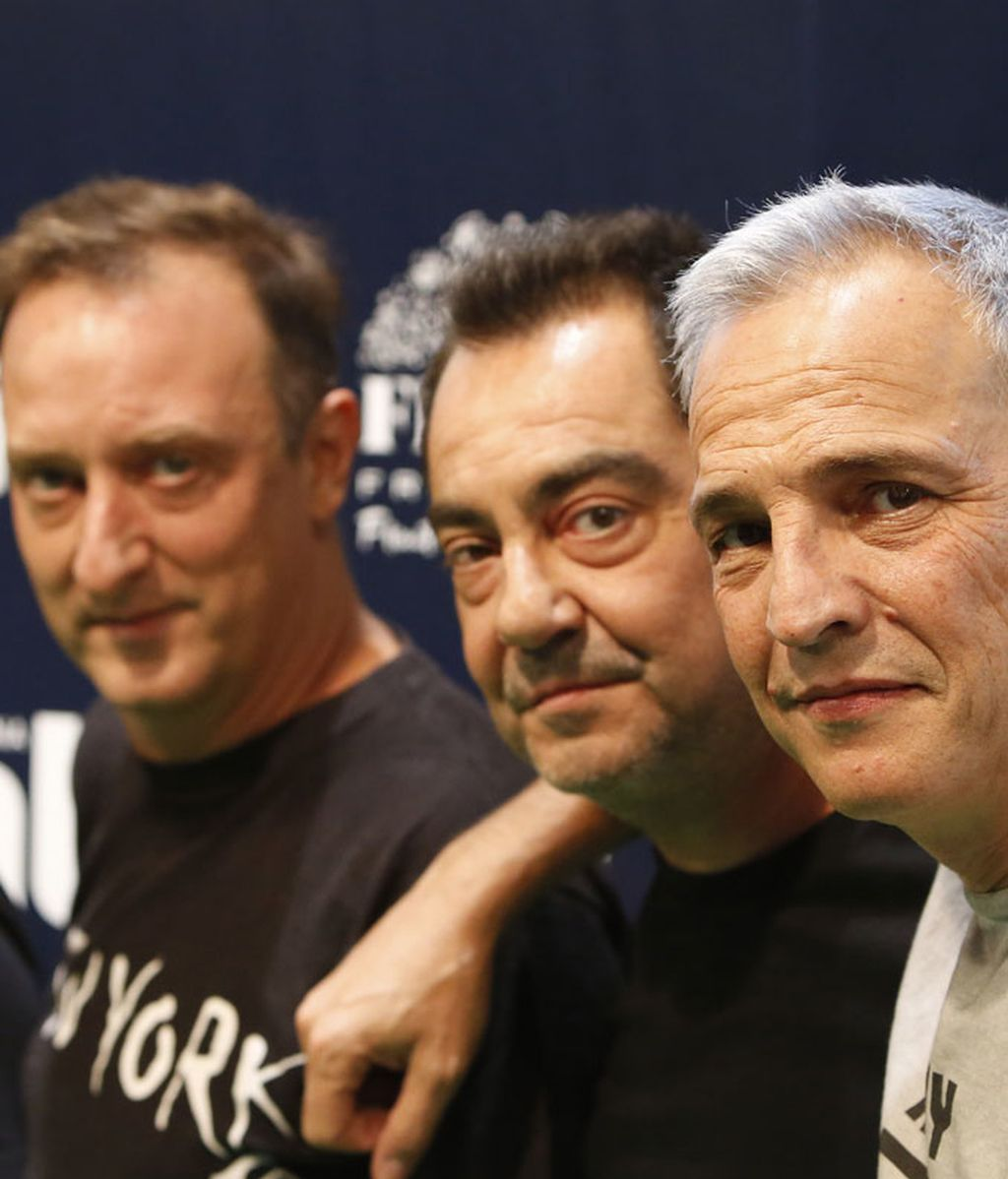 Hombres G en la gala de 25 Aniversario de Cadena Dial