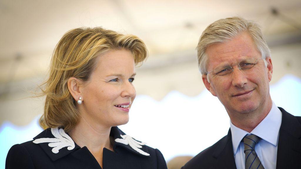 Príncipes de Bélgica: Felipe y Matilde