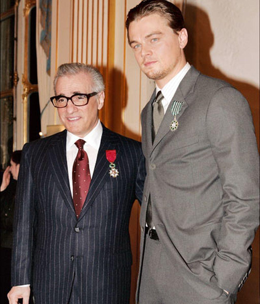 Martin Scorsese y Leonardo Di Caprio
