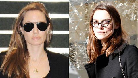c1e9dcb64a El tamaño de las gafas no debe exceder el de las sienes, así evitas que se  acentúe la diferencia de tamaño entre la parte superior e inferior del  rostro.