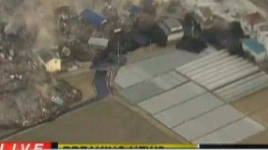 Tsunami en las costas de Japón