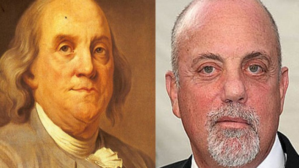 Benjamin Franklin y Billy Joel
