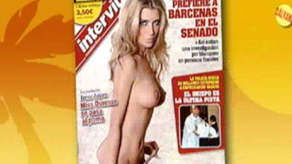 La novia de Dinio, portada de 'Interviú'