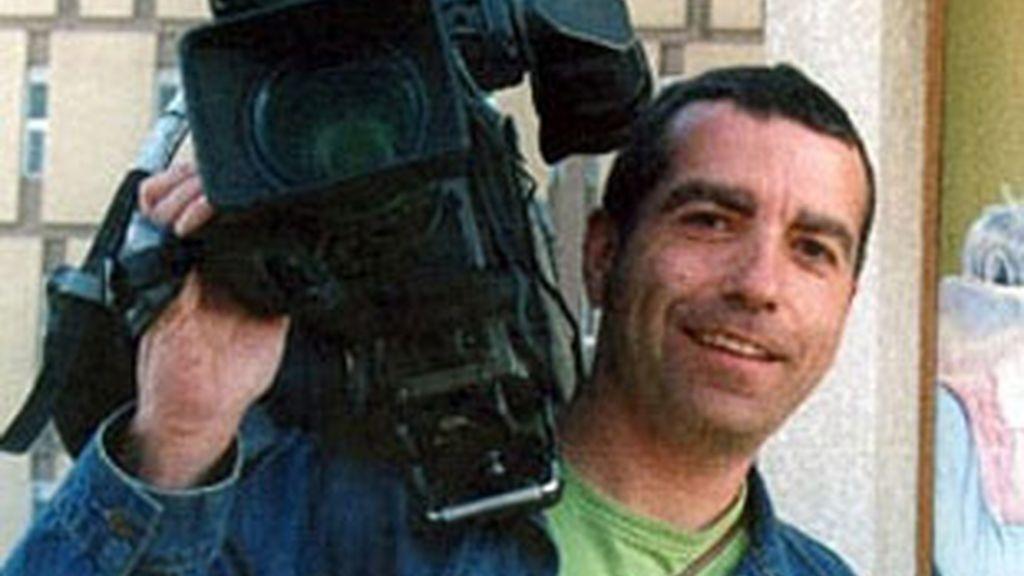 José Couso, cámara de Telecinco, asesinado en Irak.