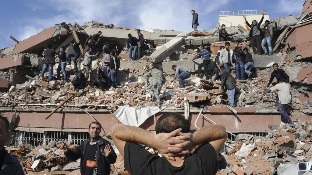 Un terremoto sacude Turquía