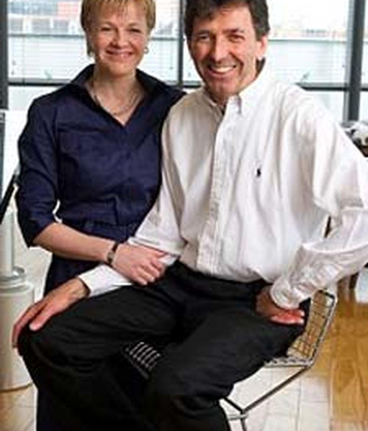 Andrew Knight, con su compañera Sally Britton. Foto: Dailymail.com