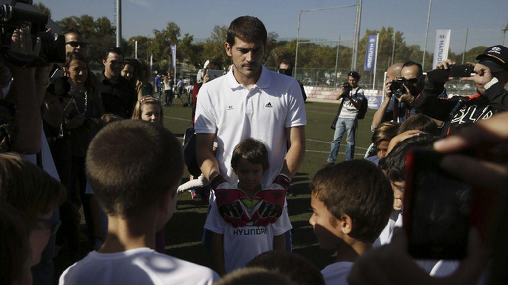 """Casillas: """"Antes de Navidad queremos ser líderes"""""""