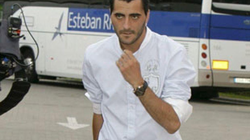 Imagen de archivo del delantero jerezano Dani Güiza. foto: EFE.