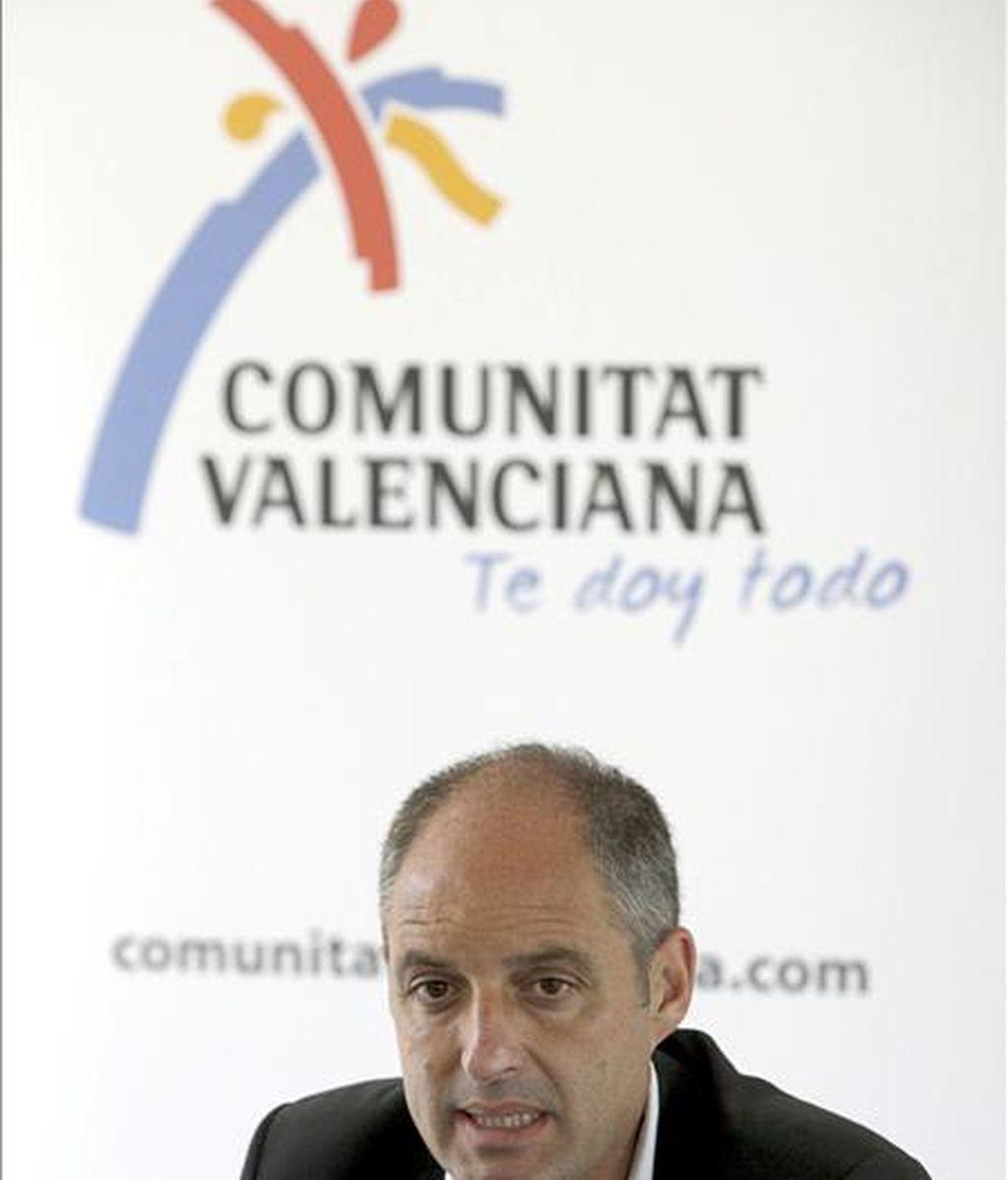 El presidente de la Generalitat Valenciana, Francisco Camps. EFE/Archivo