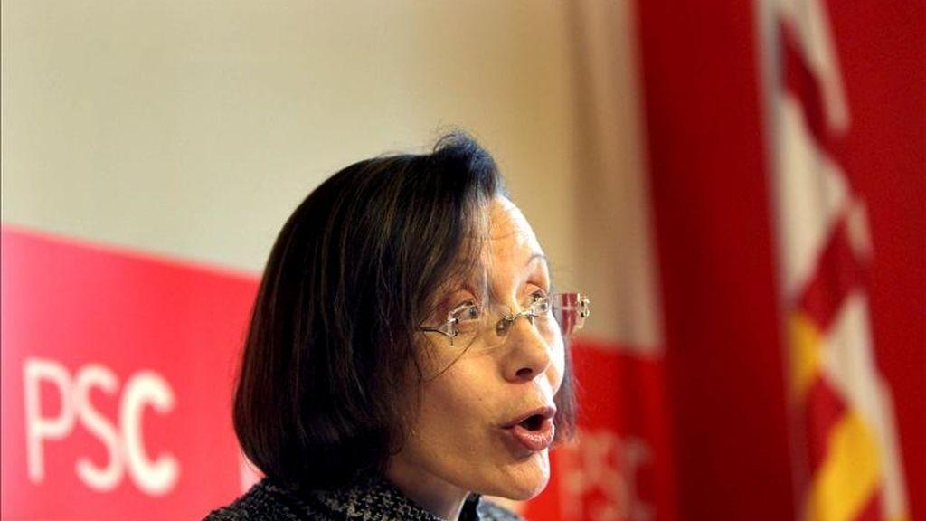 La ex consellera de Justicia, Montserrat Tura. EFE/Archivo
