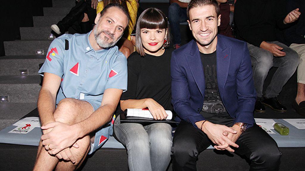 Sergio Mitjans, Laura Caballero y Gabi Fernández