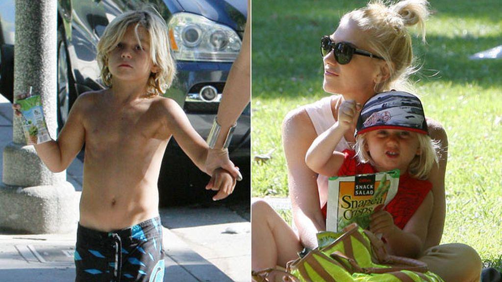 Kingstone y Zuma, los hijos de Gwen Stefani