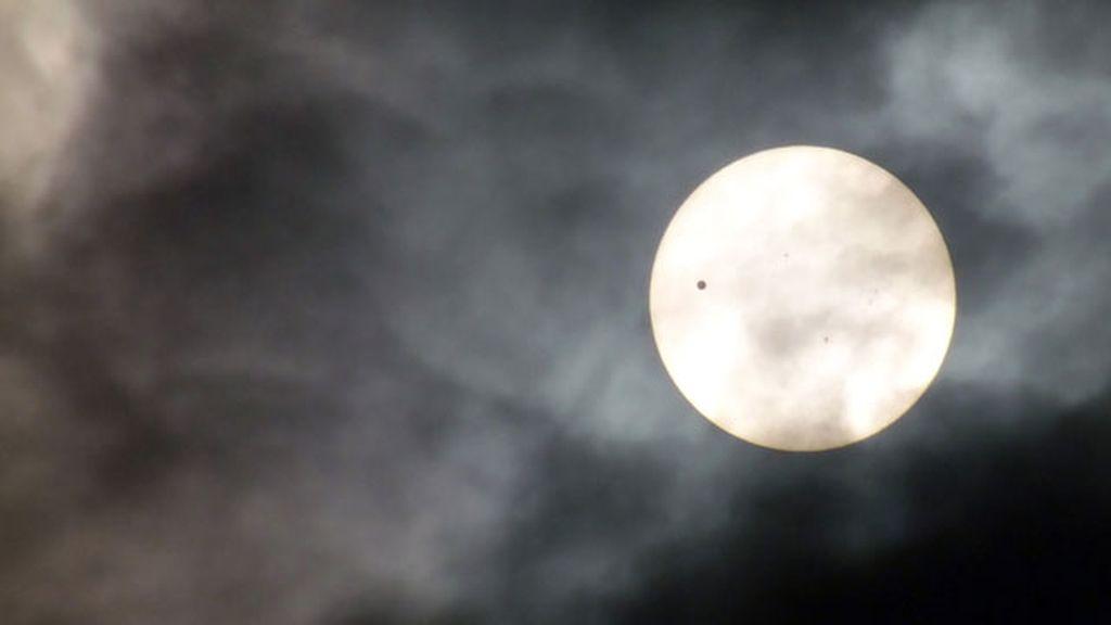 Espectaculares imágenes del tránsito de Venus