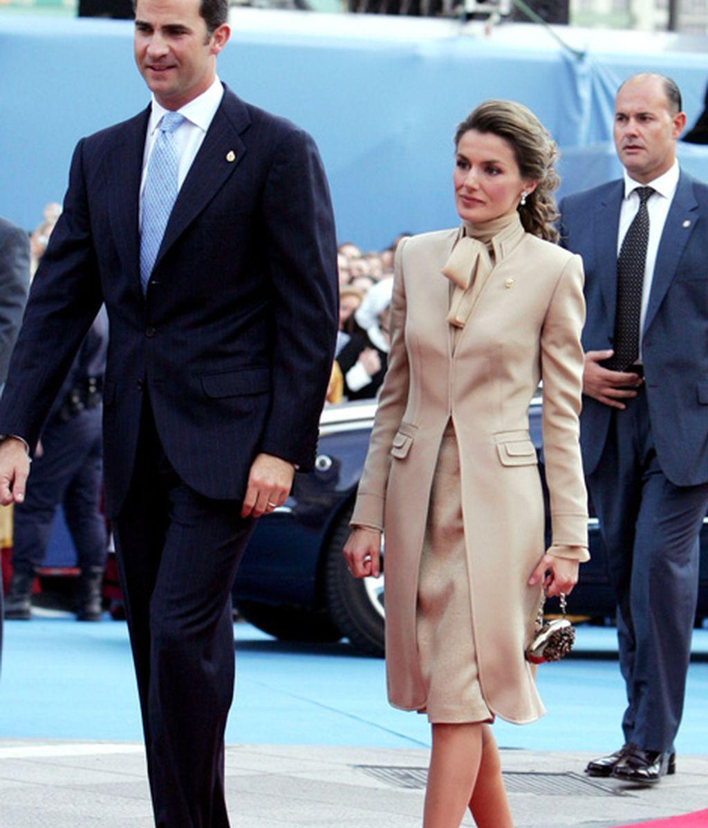 Primeros premios Príncipe de Asturias como marido y mujer (noviembre 2004)