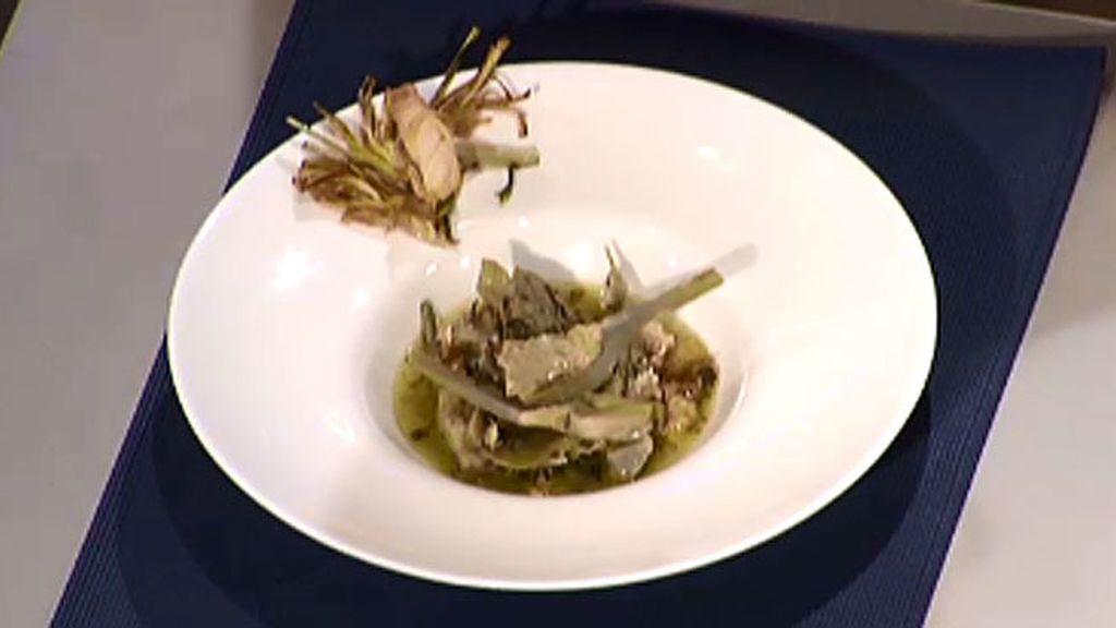 Alcachofas guisadas con cucarachas murcianas y claveles