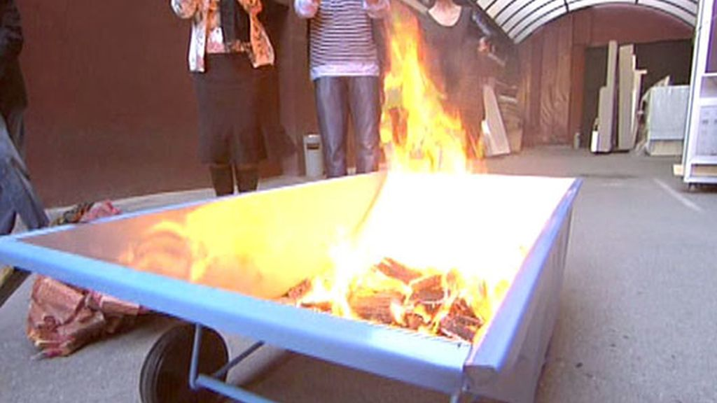 Un ritual para la quema de las capitas