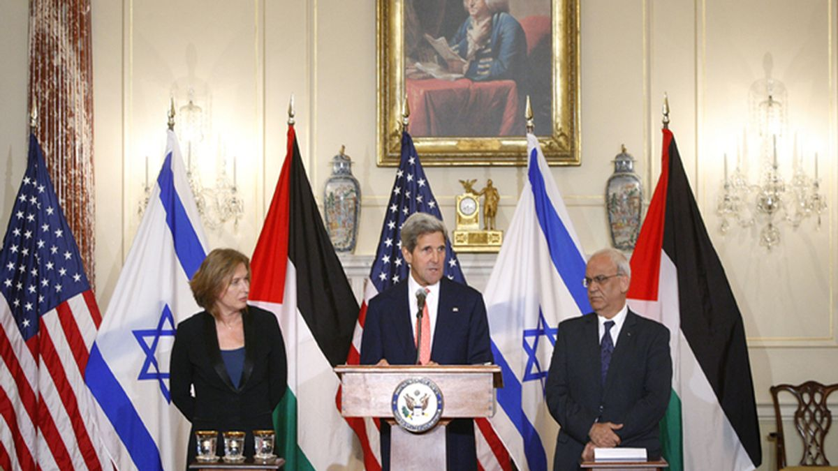 Israelíes y palestinos acercan posturas en las negociaciones de paz