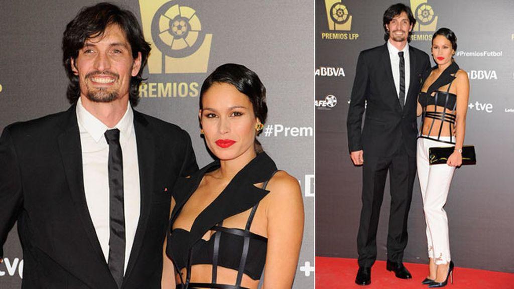 Mireia Canalda junto a su chico, Felipe López
