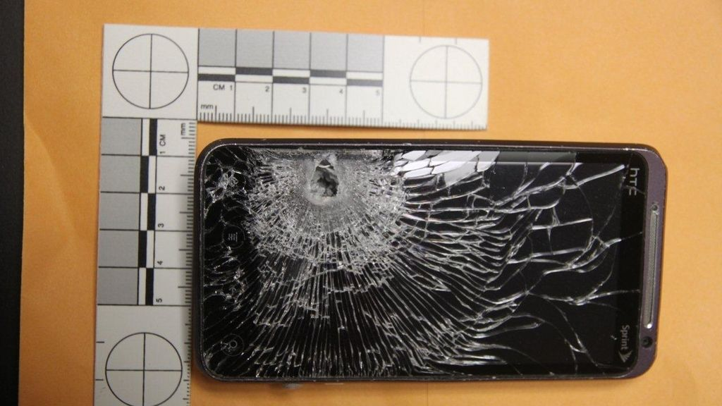 smartphone,proyectil