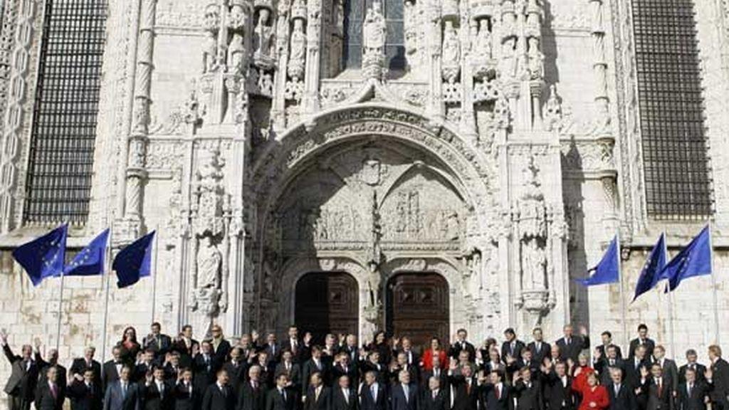 2007: Firma del Tratado de Lisboa
