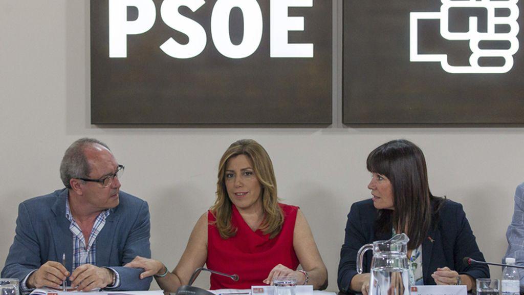 Susana Díaz se reúne con la Comisión Ejecutiva Regional del PSOE-A