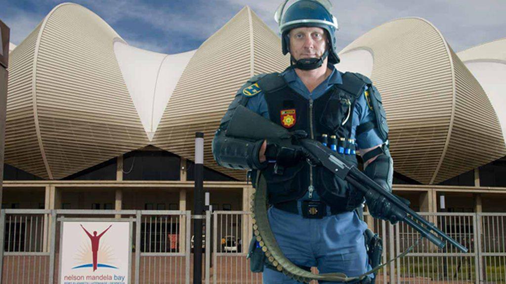 La policía sudafricana, lista para el Mundial