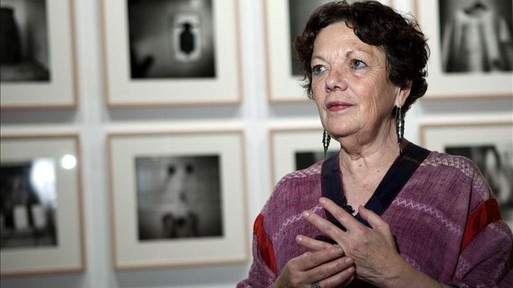 La mexicana expone 180 imágenes captadas a lo largo de su trayectoria de 40 años de fotógrafa.EFE/Archivo
