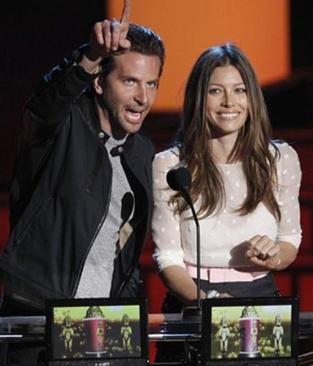 Bradley Cooper y Jessica Biel