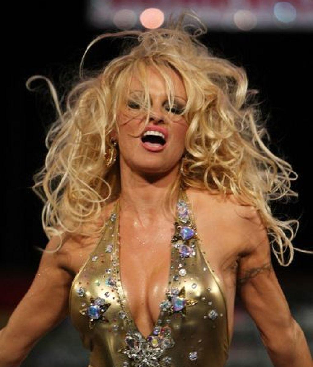 Pamela Anderson, veteranía explosiva