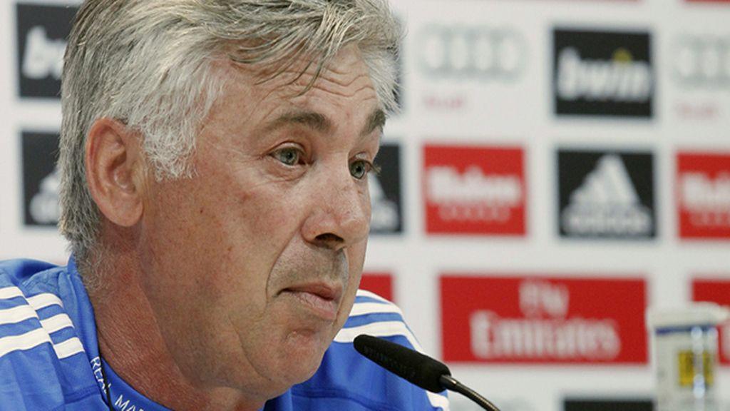 """Ancelotti: """"El club busca encontrar una solución con Gareth Bale"""""""