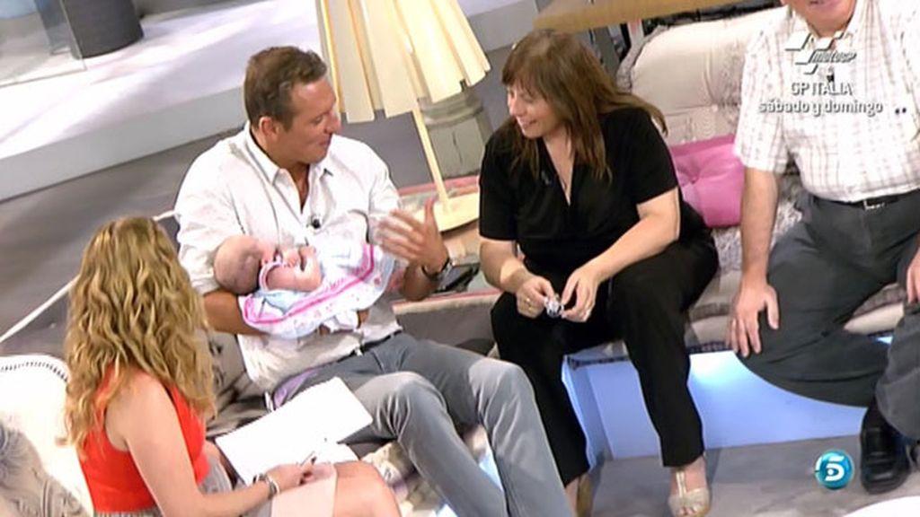 La bebé Cayetana y Prat