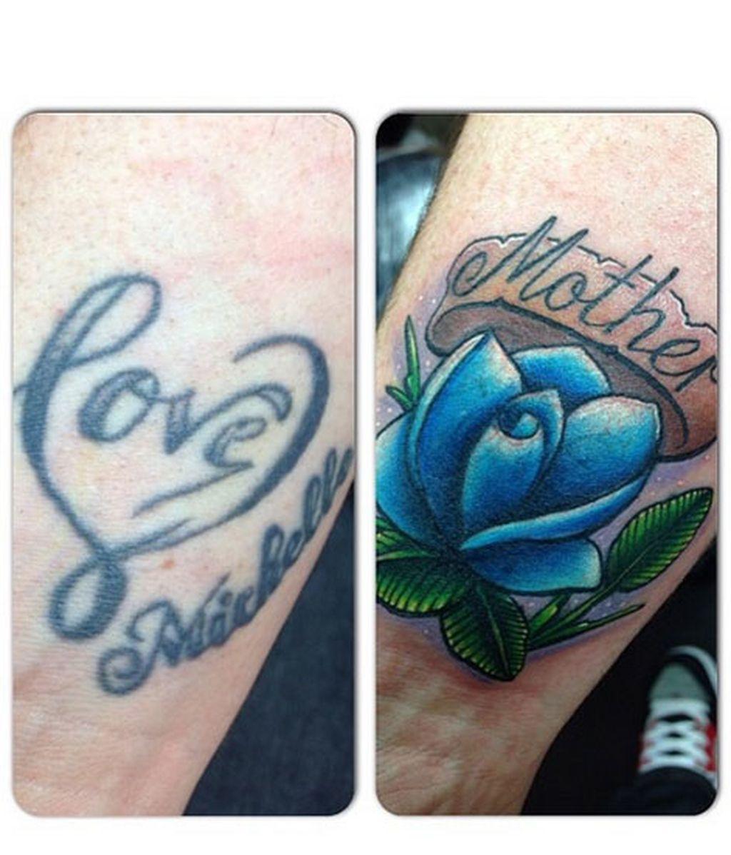 Cómo disimular el tatuaje cuando tu amor se convierte en tu ex