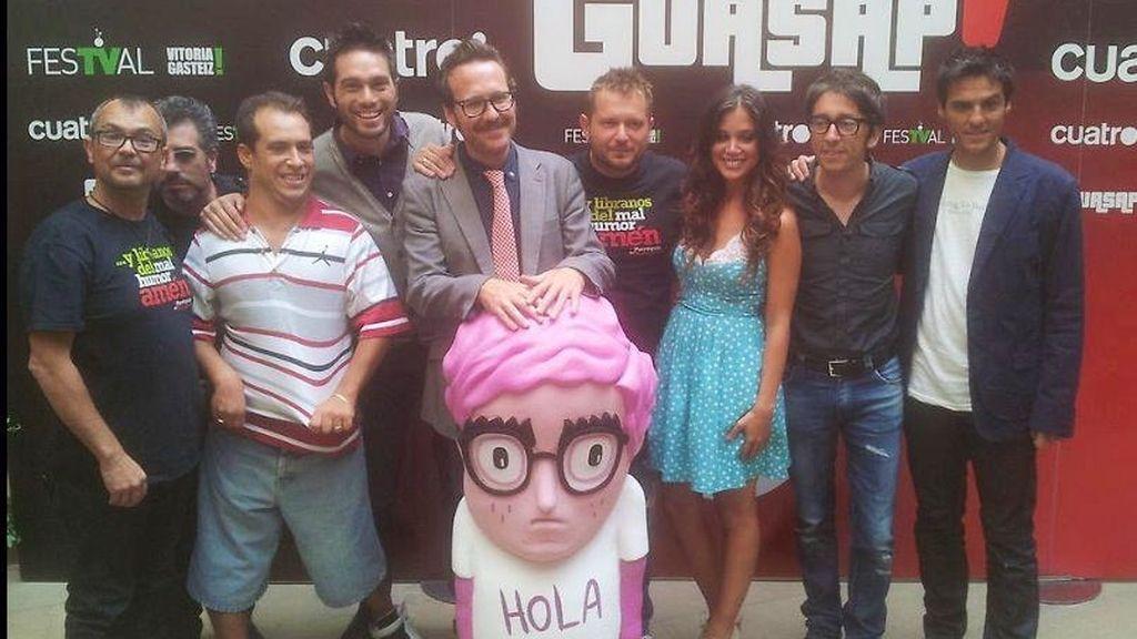 La banda de Guasap! al completo
