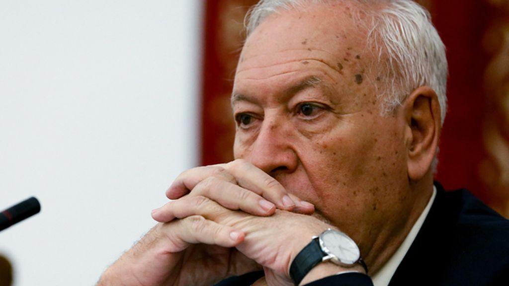 Margallo afirma que no tiene razones para dudar del ministro Soria