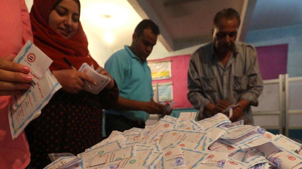 Cierran los colegios electorales en Egipto