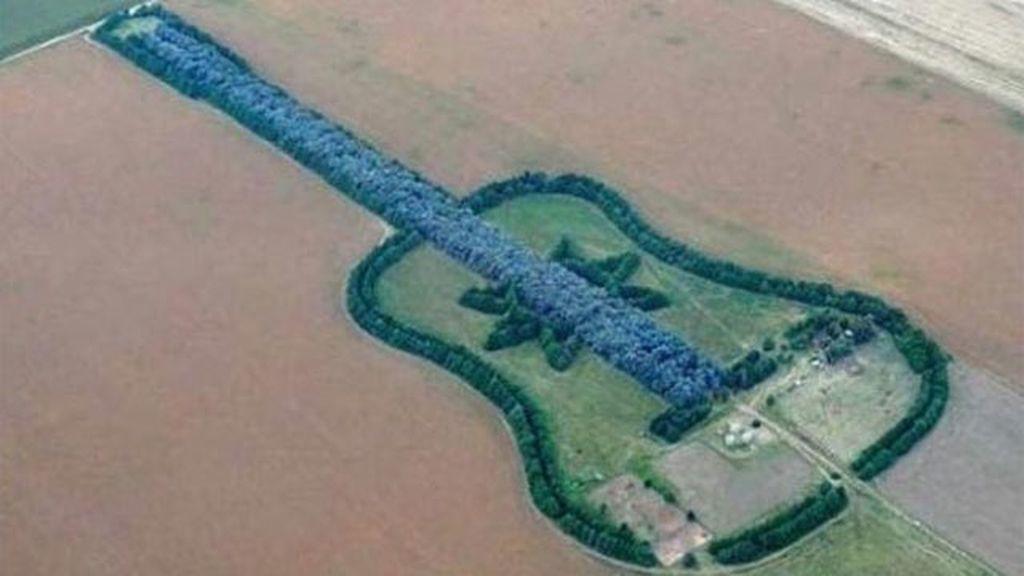 Lo que solo se puede ver a través de Google Earth