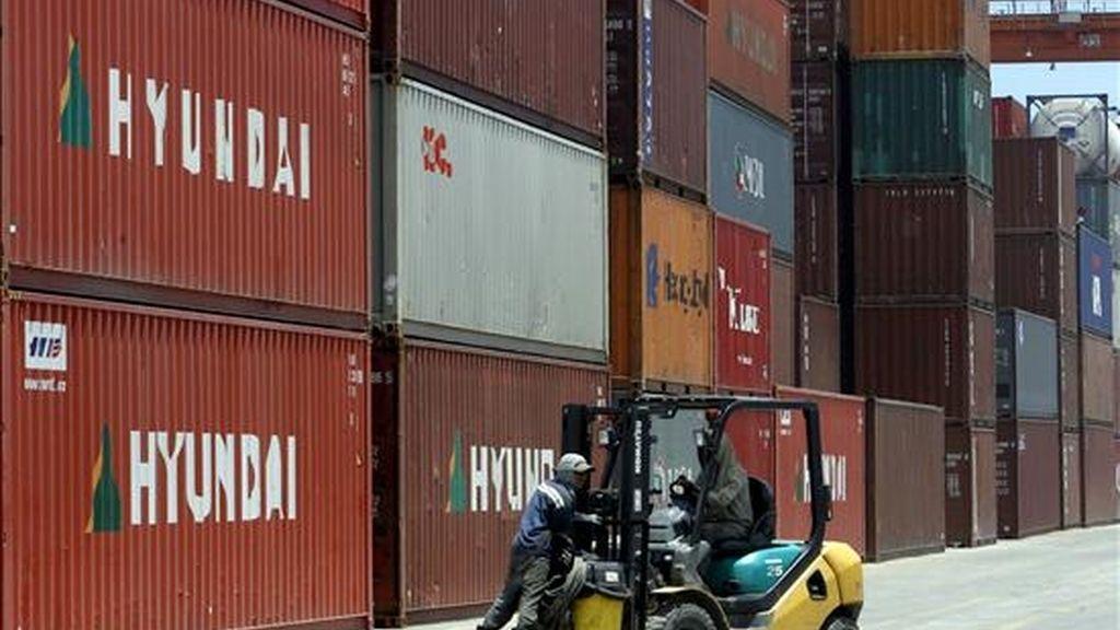 Las exportaciones conforman el 13% de la economía estadounidense. EFE/Archivo