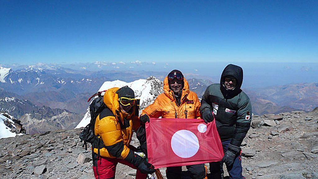 En la cumbre del Aconcagua: ¡Desafío conseguido!