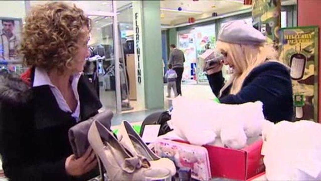 Gemma devuelve sus compras