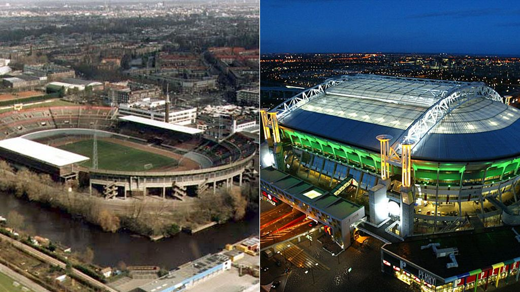 Amsterdam Arena: El templo del Ajax que conquistó el Madrid